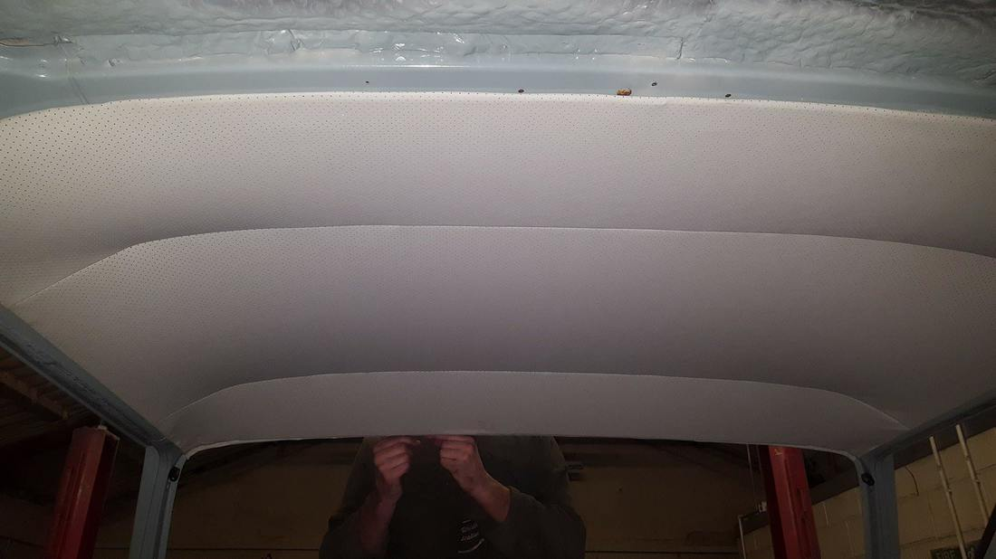 Vw T25 Cab Headlining Replacement Rotbox Rustorations