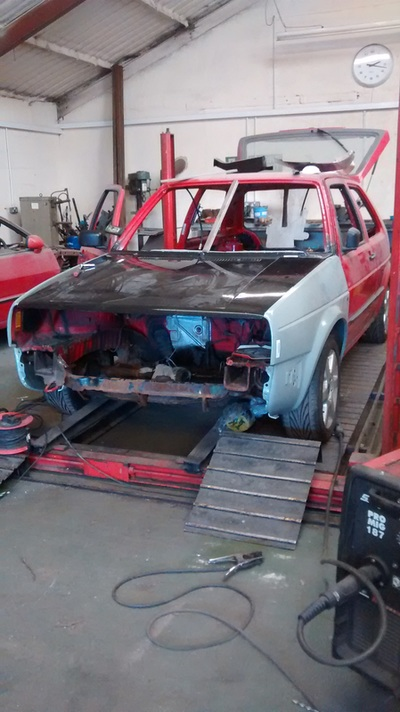 MK2 Golf GTI Restoration Welding Project