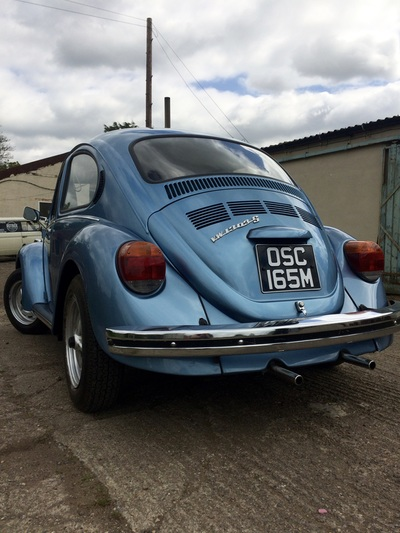 VW 1303S Super Beetle Restoration Welding