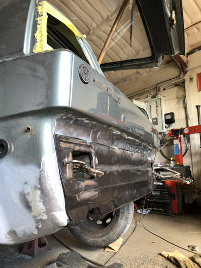 VW MK2 Golf Lower Rear Valance Replacement