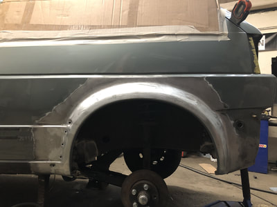 VW MK2 Golf N/S Rear Arch Replacement
