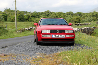 VW Early Style Corrado Toranado Red Restoration