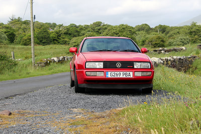 1989 Early VW Corrado Tornado Red