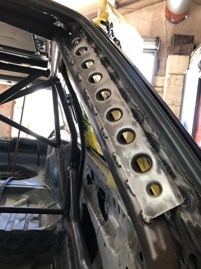 VW MK2 Golf Roll Cage Gussets