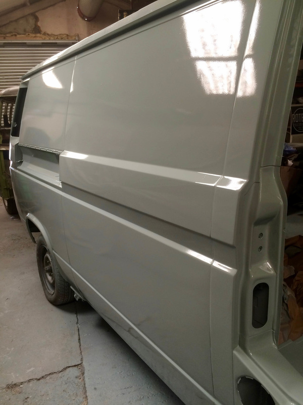 Vw T25 1988 Panel Van Restoration Welding Project