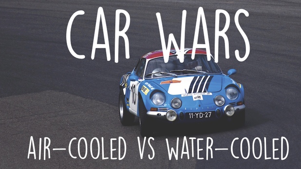 air-cooled vw water-cooled cars